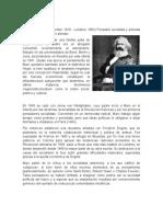 Biografias de Karl Marx y Friedrich