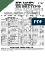 Soccer Europa League-thursday-pacific Racing (6)