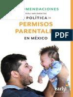 Recomendaciones Para Implementar Una Política de Permisos Parentales en México