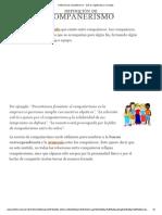 Definición de compañerismo - Qué es, Significado y Concepto.pdf
