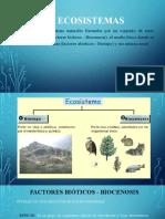 Factores de Los Ecosistemas DIANA O