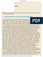 Comunitarismo - Daniel Bell (artículo en español)