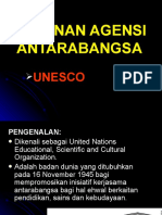 PERANAN AGENSI ANTARABANGSA-UNESCO