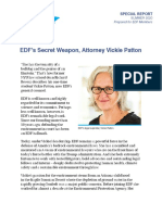 Our secret weapon, attorney Vickie Patton