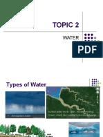 Topic 2  Water
