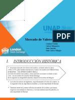 MERCADO DE VALORES INGLES