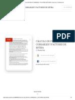 (PDF) CÀLCULO DE PESOS COBRABLES Y FACTORES DE ESTIBA _ ricardo ruiz - Academia.edu