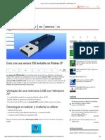 Como crear una memoria usb booteable con Windows XP