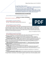IL Nurse Practice Act - 2007