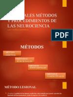 2. MÉTODOS Y PROCEDIMIENTOS DE LAS NEUROCIENCIAS