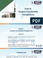 GRUPOS FUNCIONALES INORGÁNICOS