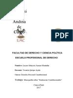 FACULTAD DE DERECHO Y CIENCIA POLÍTICA