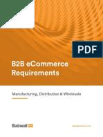 Slatwall - ECommerce Requirements Guide for B2B