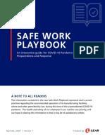 Safe Work Playbook