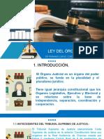 TEMA 1 INTRODUCCIÓN A LA LEY DEL ÓRGANO JUDICIAL