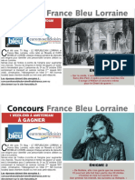 Concours TV Mag le Républicain Lorrain et France Bleu Lorraine