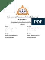 Face detection door lock system using ESP32cam