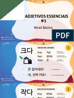 Coreano Online - Apostila (slides)