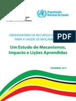 Observatório de Recursos Humanos Para Saúde de Moçambique_Webversion