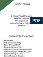 NSSE-2011-DPM-ProgramSlicing