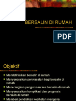 BERSALIN DI RUMAH