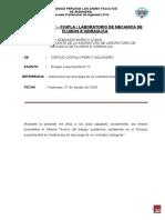 Informe del Ensayo Experimental N°12 - CORTIJO