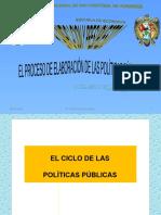 CICLO DE POLITICAS PUBLICAS CEPAL