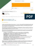 State Machine Design in C++ - CodeProject