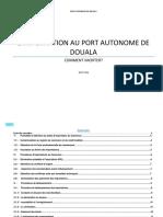 pdf importer au port de douala