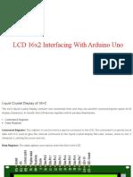 LCD INTERFACING WITH ARDUINO