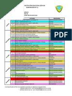 Comunicado Nº 11 - Cronograma Finalización