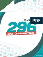 Simulado_296 QUESTÕES GABARITADAS DE RESIDÊNCIA.pdf