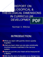 A REPORT ON PHILOSOPICAL & THEOLOGICAL DIMENSIONS IN.ppt