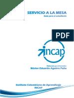 HS SERVICIO DE MESA
