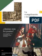La evangelización y los jesuitas