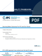 IFC PPT Sustainability Framework Overview and PSs + EP 04032020