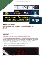 Cannibal Corpse_ biografia oficial é lançada no Brasil