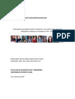 Informe Final de Investigación 2018