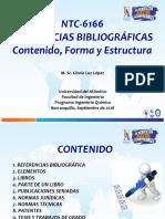 presentación Referencias (NTC 6166)