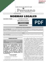 Gobierno prorroga estado de emergencia y cuarentena focalizada hasta el 30 de setiembre