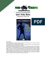 Evanovich, Janet - Stephanie Plum 08 _ Que Vida Esta.doc
