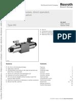Rexroth WE10 Directional Control Valves