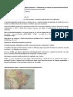 A formação do território brasileiro II