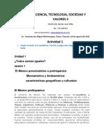 ACTIVIDAD CIENCIA, TECNOLOGIA, SOCIEDAD Y VALORES 3