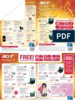 Acer Special Singapore Promotions - Bizgram Asia Pte Ltd - Released on (10 Jan 2011)