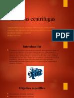 Bombas centrifugas PPT
