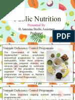 Public Nutrition - 21.08.2020 - Part 2