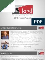 Kansas City Startup Foundation - 2016 Impact Report.pdf