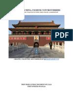 Blackskinlenincccp Retrieved 8-9-20 Notes on China-uighur Controversies