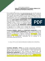 PROMESA DE COMPRAVENTA LINEYA
